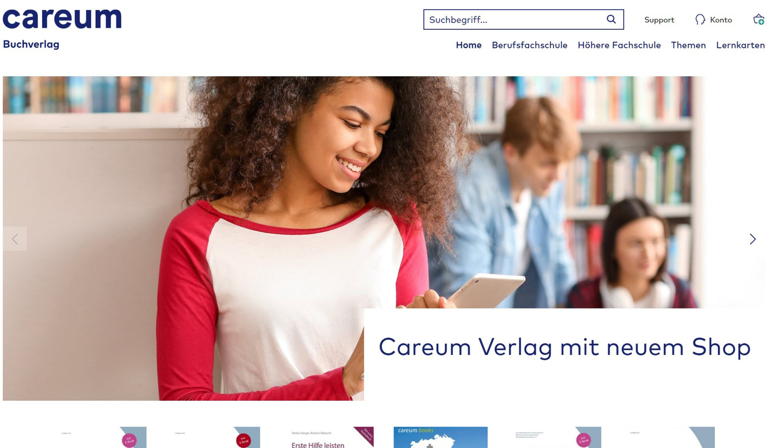 E-Commerce-Shopware-Agentur-CareumVerlag
