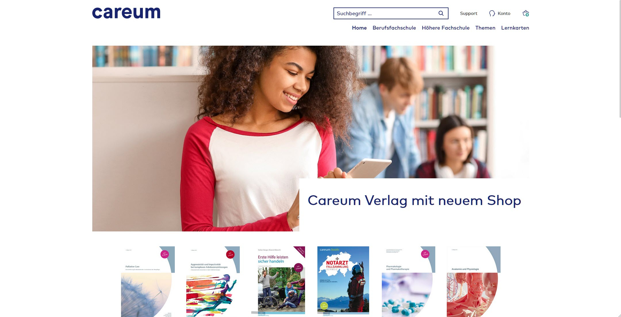 Careum_Desktop preview