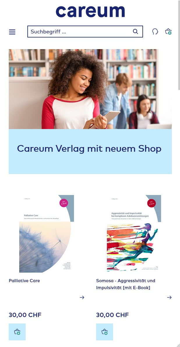 Careum_Mobile preview